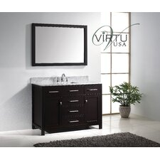 "Caroline 48"" Single Sink Bathroom Vanity Set"