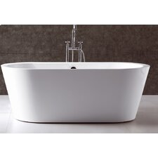 "Serenity 70"" x 32"" Bathtub"