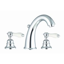 Herend Widespread Bathroom Sink Faucet with Double Lever Handles