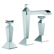 Mp1 Widespread Bathroom Sink Faucet with Double Cross Handles