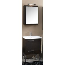 "Simple 22.5"" Wall Mounted Bathroom Vanity Set"