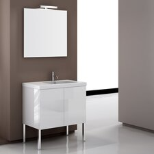 "Space 31.1"" Footed Bathroom Vanity Set"