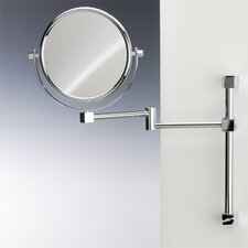 Double Face Wall Mounted 3X Magnifying Mirror with Two Arm and Two Brazo