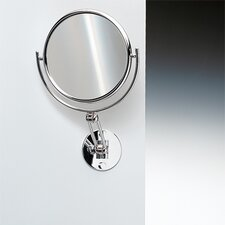 "5.5"" Extendable Double Face Wall Mounted 7X Magnifying Mirror"