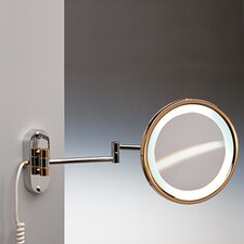 "9"" Fluorescent Light 5X Magnifying Mirror"