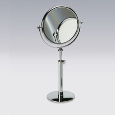 "16.2"" Free Standing 7X Magnifying Mirror with Optical Grade Glass"
