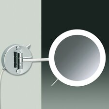 Wall Mount LED 3X Magnifying Mirror with Wired