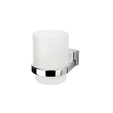 BloQ Wall Mounted Tumbler Holder in Chrome