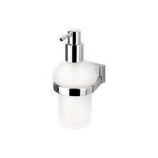 BloQ Wall Mounted Soap Dispenser in Chrome