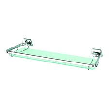 "Standard Hotel 14.7"" Shelf Holder in Chrome"