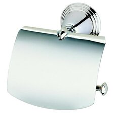 Montana Classic Toilet Roll Holder with Cover in Chrome