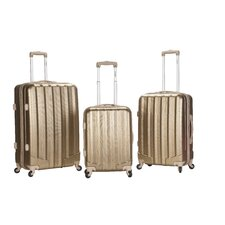 Metallic 3 Piece Upright Set