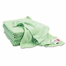 Commercial Reusable Cleaning Cloths, Microfiber, 16 X 16, 12/Carton