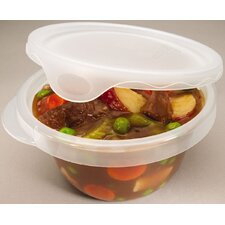 4 Piece 28 Oz Round Container Set