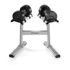TwistLock Dumbbell Pair and Stand Set