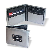 Hybrid Vault Wallet with Change Pouch in Silver