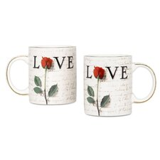 Love Letters 12 oz. Coffee Mug