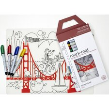 Mark-mat Kid Box: Fun on the Golden Gate + 4 Markers