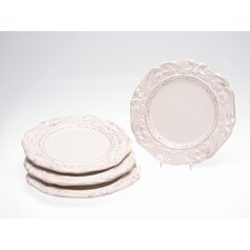 Firenze Ivory Dessert Plate by Pamela Gladding (Set of 4)
