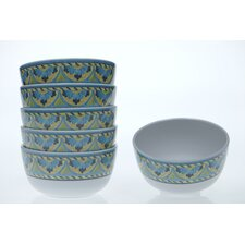 "Mexican Tile 5.75"" Ice Cream Bowl (Set of 6)"