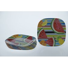 "Fruit Splash 8.5"" Plate (Set of 6)"