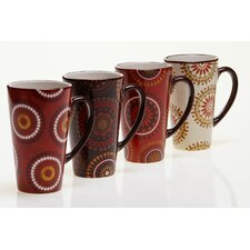 Cup Of Joe 17 oz. Latte Mug (Set of 4)