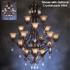 Cottage Grove Indoor Carre Bronze Incandescent Chandelier