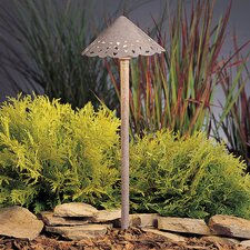 Decorative Hammered Roof Landscape Path / Spread Light