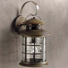 Rustic Outdoor Wall Lantern