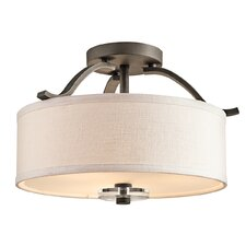 Leighton 3 Light Semi Flush Mount