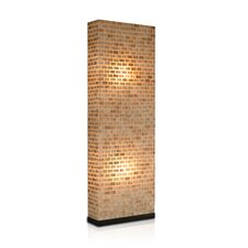 Valentti 2 Light Partition Floor Lamp