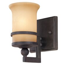 Ranier 1 Light Bath Wall Sconce