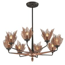 Copperfield 8 Light Chandelier
