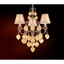 Venetian 3 Light Chandelier