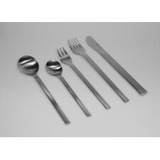 Mono-A 20 Piece Flatware Set with Short Blade Table Knife and Giftbox by Peter Raacke