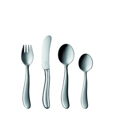 Bonito 99 Collection Silver 4 Piece Child's Cultery Set