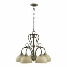 Powell 5 Light Nook Chandelier