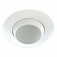 "8""  Adjustable Eyeball Recessed Lighting Trim in White"