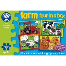 Farm Four In A Box Puzzle