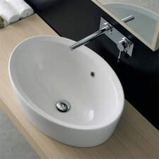 Matty Oval Bathroom Sink