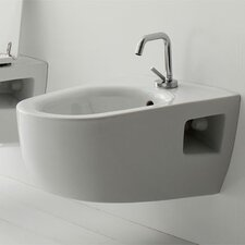 Tizi Wall Mounted Bidet in White