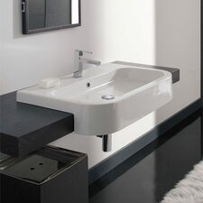 Next Semi Recessed Bathroom Sink