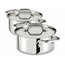 Specialty Cookware 0.5-qt. Cocottes with Lids (Set of 2)