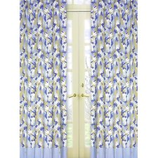 Camo Cotton Curtain Panel Pair