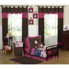 Cowgirl Western Toddler Bedding Collection 5 Piece Set