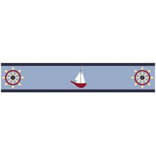 Come Sail Away Collection Wall Paper Border