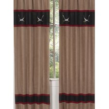 Pirate Treasure Cove Curtain Panel Pair