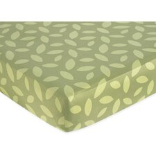 Jungle Time Fitted Crib Sheet
