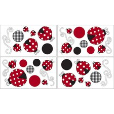 Little Ladybug Collection Wall Decal Stickers