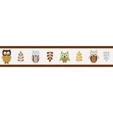 Owl Collection Wall Paper Border